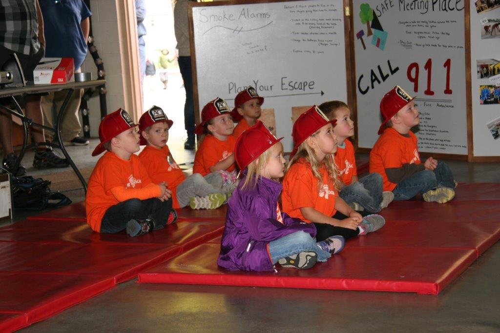 Fire Safety Kids FireHats 2017